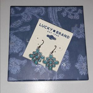 NEW Lucky Brand Semi Precious Earrings